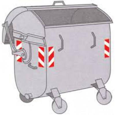 Strisce adesive riflettenti 3M™ per cassonetti rifiuti e