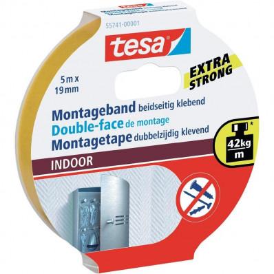 Cinta adhesiva doble cara en ampollas TESA 55741 para internos