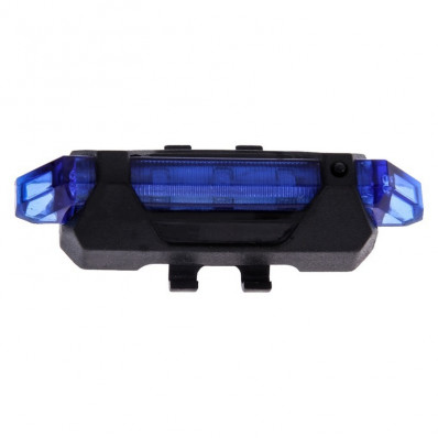 Luz LED Azul de seguridad para bicicleta DC-918 USB venta en