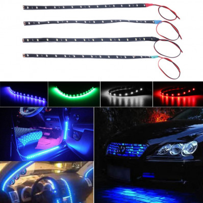 Bande adhesive imperméable LED en 4 couleurs vente en ligne