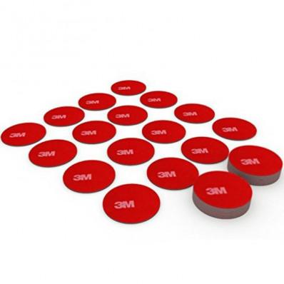 100 Disques adhésives double face 3M™5925 VHB à haute