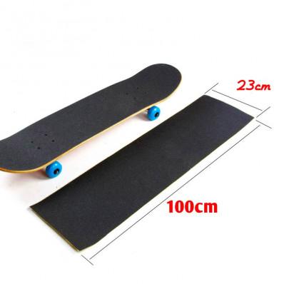Feuille adhesive noire antidérapant noir pour surf des neiges