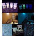 Additivo in granuli di vetro luminescente pitture murali EXTRA