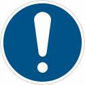"""Cartelli di obbligo ISO 7010 """"Obbligo Generico"""" - M001 vendita"""