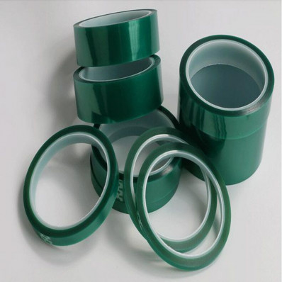 Ruban de masquage vert en silicone pour le vernissage - 66 mt