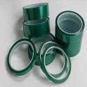 Nastro adesivo verde siliconico mascheratura in poliestere per