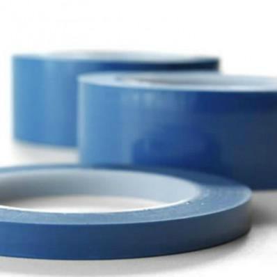 Ruban de masquage bleu en silicone pour le vernissage - 66 mt