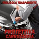 Pellicola protettiva adesiva trasparente antischeggiatura