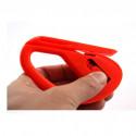 Cuchillo con hoja de aplicación para el corte del vinilo y para