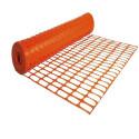 Rete da cantiere edilizia per recinzione in plastica arancione