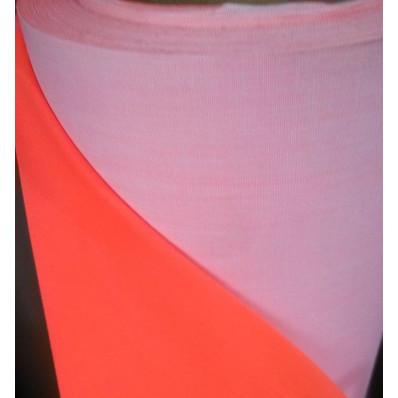 Feuille réfléchissante à coudre orange fluorescente homologuée