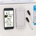 Magnete Iphone 6 Plus da frigo con sfondo bianco scrivibile con