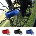 Blocco per freno a disco ruota bici/moto antifurto in acciaio