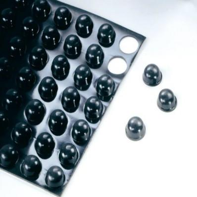Topes Protectores antideslizantes negros 3M™Bumpon™ SJ5303