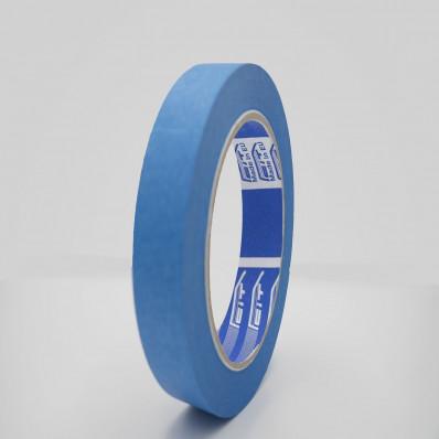 Ruban de masquage bleu en papier de carrosserie résistant aux