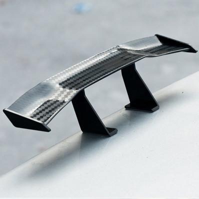 Mini Spoiler universale in fibra di carbonio per auto/moto