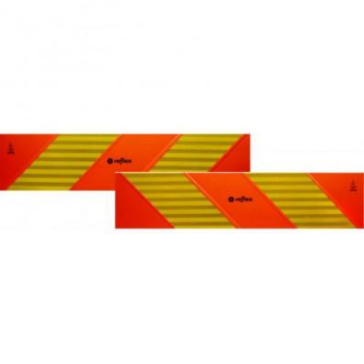 ECE 70.01 panneaux de réfraction pour tracteur 2 pièces en kit