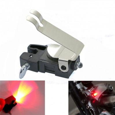 Lampada a luce led di stop posteriore per bicicletta che si