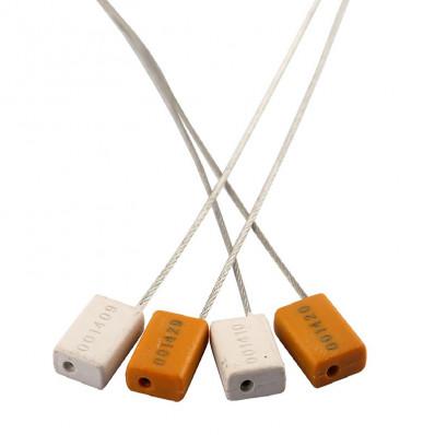 Sigilli di sicurezza a cavo metallico in acciaio da 1,5mm con