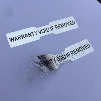 Sellos holográficos anti manipulación con precinto de seguridad – 70 piezas