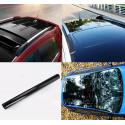Pellicola adesiva nero lucido 3 strati per tetto auto no bolle