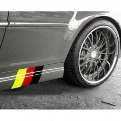 Pegatinas bandera alemana para BMW series M3 E39 E46 E90 X3 X5