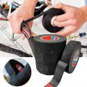 Cinta en fibra de poliester anti-ruido para motor de coche