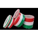 Fascia adesiva tricolore bandiera Italia in 5 misure a scelta
