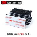 Velcro adesivo nero 25mm x 5cm Dual lock SJ 3550 3M™