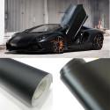 Pellicola adesiva nero opaco per car wrapping e tuning auto