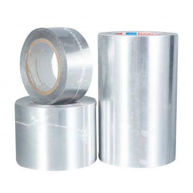 Nastro in alluminio argento alte temperature con liner