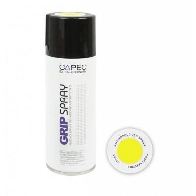 Bombe de peinture antidérapante jaune photo luminescent CAPEC